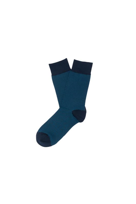 Ponožky informal, farba modrá