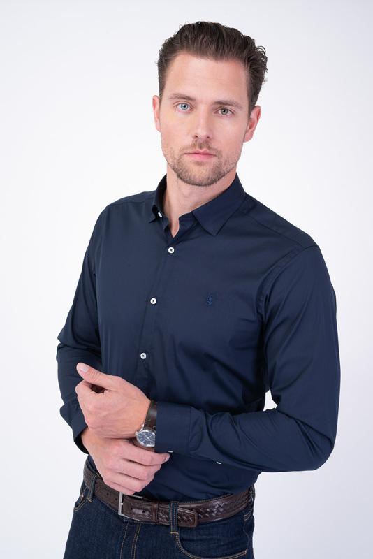 Neformálna košeľa Tmavo modrej farby