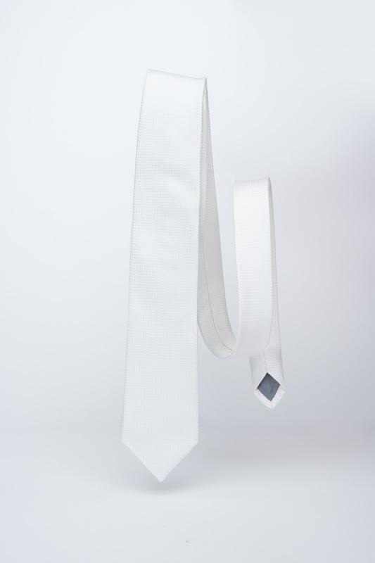 Slávnostná kravata Biele farby