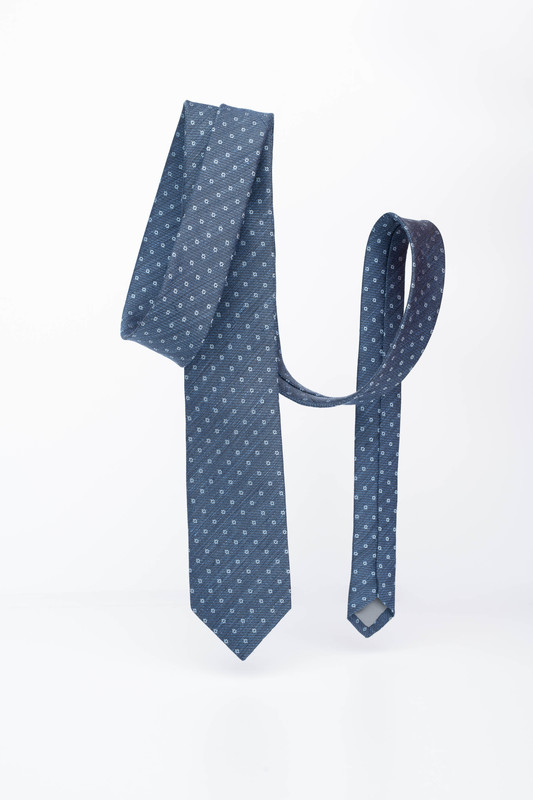 Pánská kravata Z ľanu a hodvábu