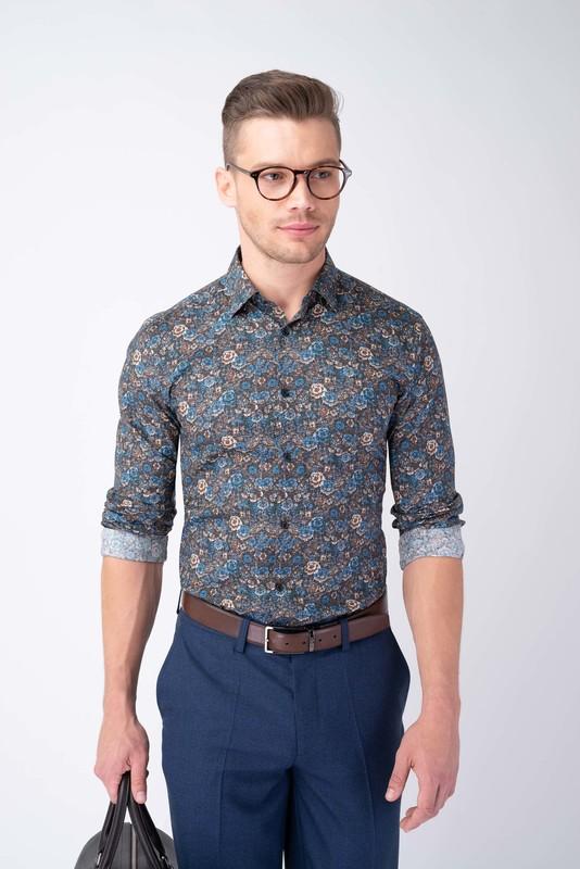 Neformálna košeľa S výrazným vzorom
