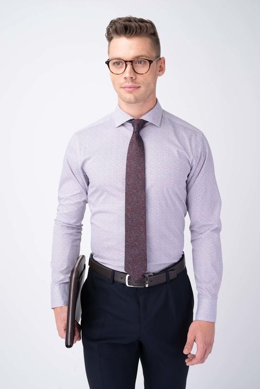Formálna košeľa S jemným vzorom