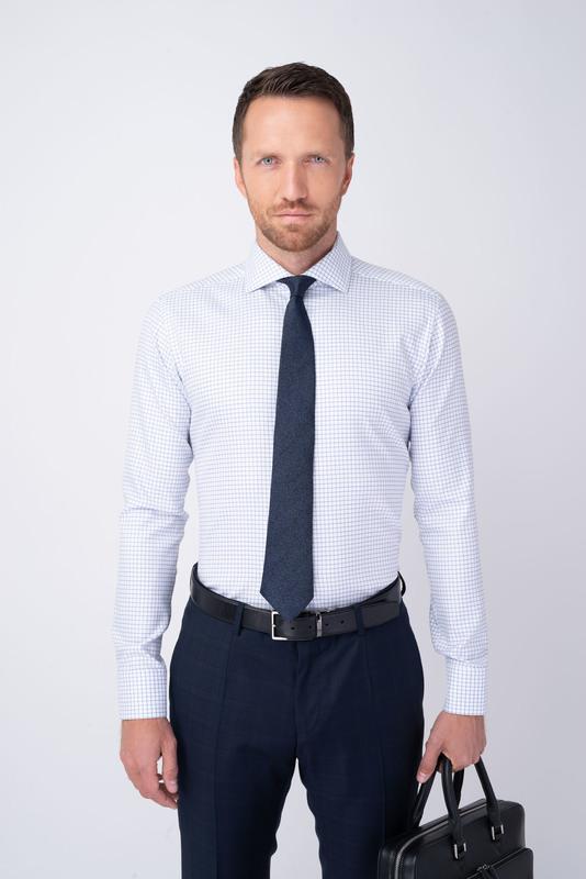 Formálna košeľa S kockovaným vzorom