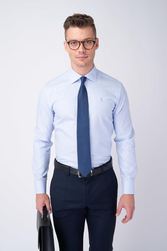 Formálna košeľa S nenápadným vzorom