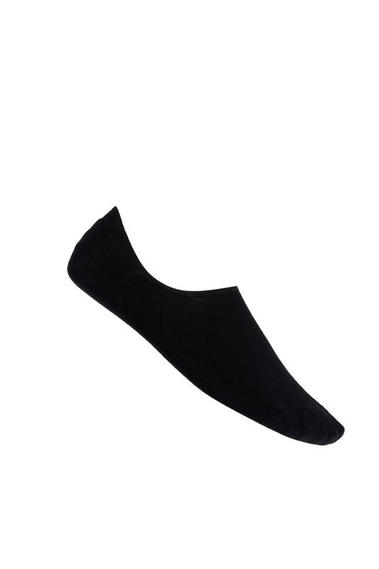 Nízke ponožky čiernej farby