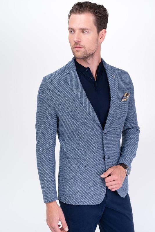 Jersey jacket Z bavlny a ľanu