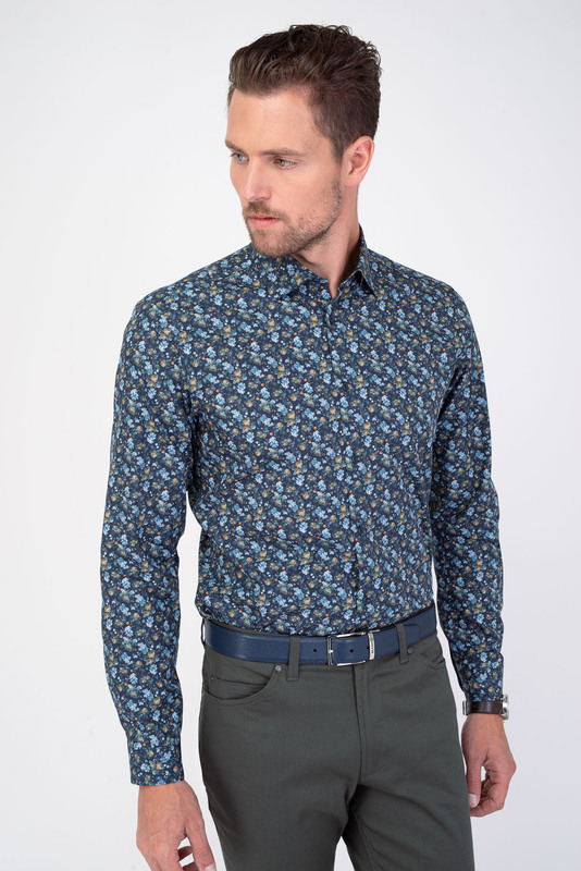 Neformálná košeľa V pohodlnom strihu