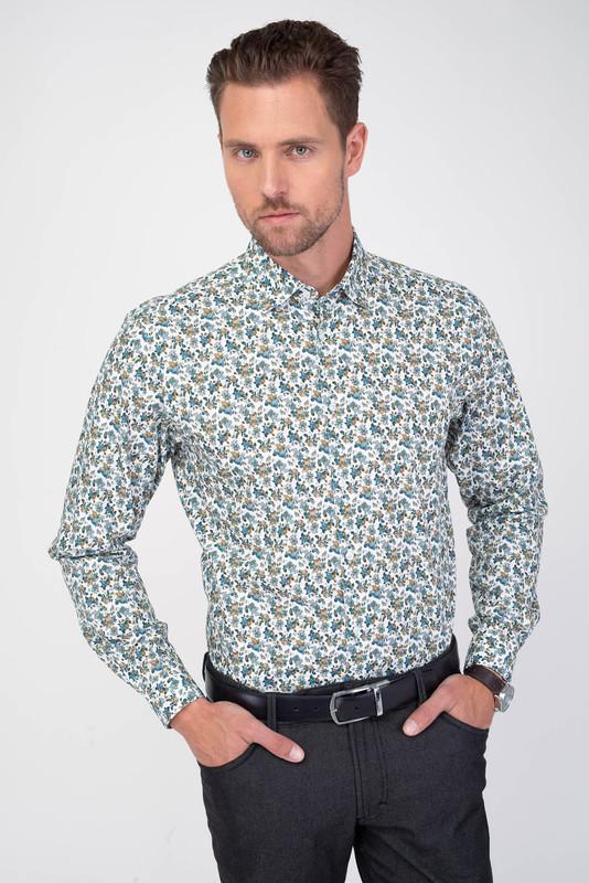 Neformálná košeľa Vo voľnom strihu