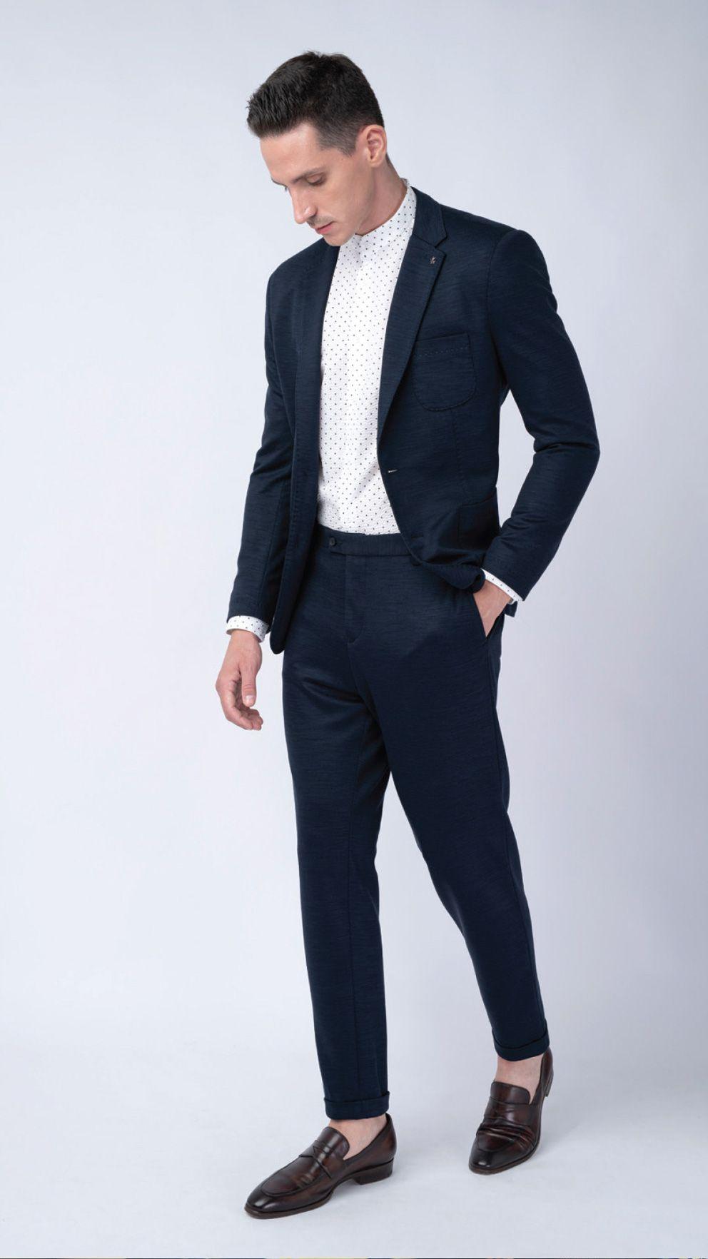 Trend kolekcie Blažek jar / leto 2020 - prateľný oblek